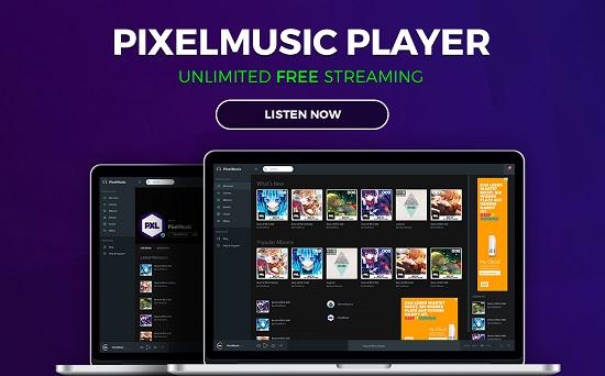 PixelMusic-Player-techmagnetism