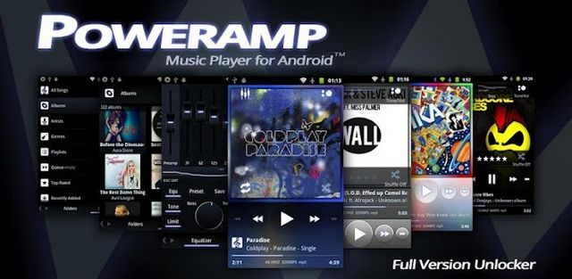 PowerAMP music player-techmagnetism