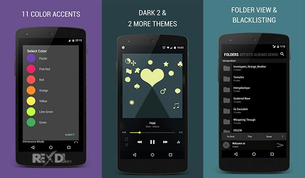 blackplayer-music player-techmagnetism