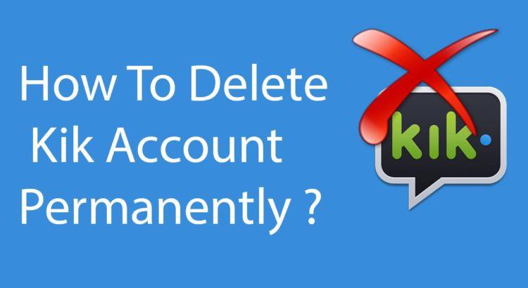 how to delete kik-techmagnetism