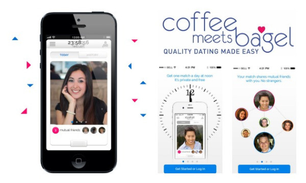Coffee meets Bagel app-techmagnetism