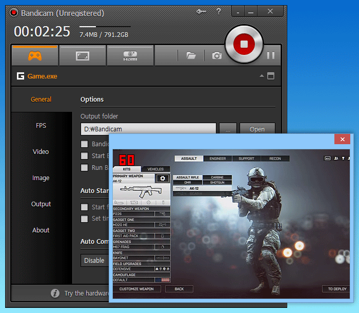 best game recording software free 2015